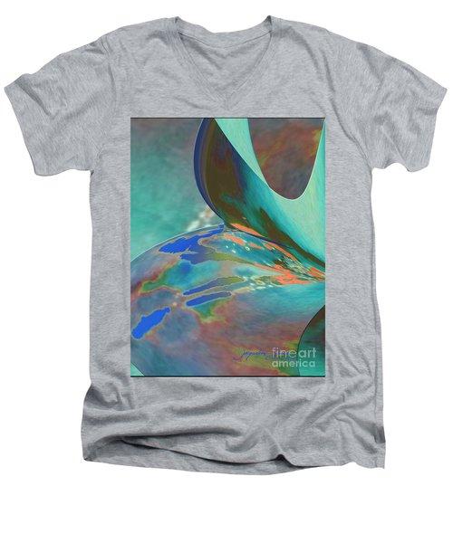Roll Out Men's V-Neck T-Shirt