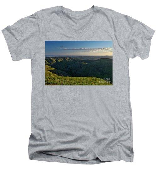 Rolling Mountain - Algarve Men's V-Neck T-Shirt