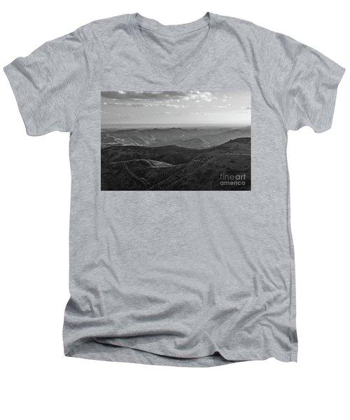 Rolling Mountain Men's V-Neck T-Shirt