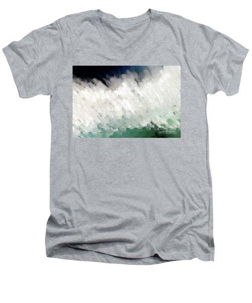 Romans 14 13. Stumbling Block Or A Stepping Stone Men's V-Neck T-Shirt