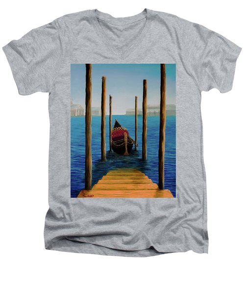 Romantic Solitude Men's V-Neck T-Shirt