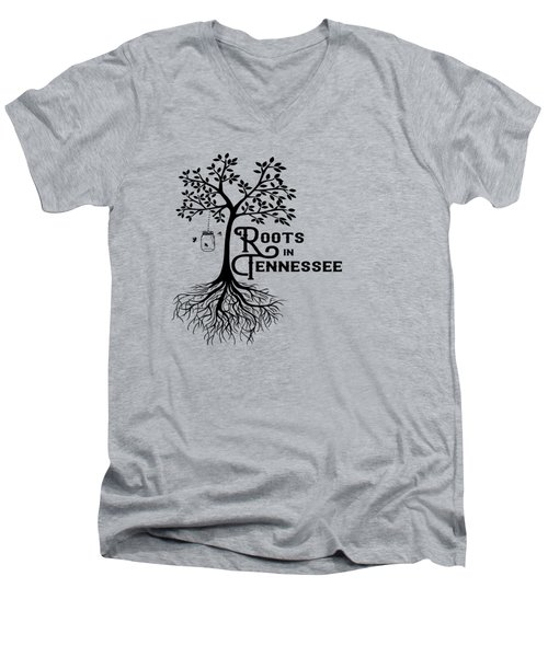 Roots In Tn Men's V-Neck T-Shirt