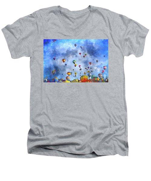 Rough Air Men's V-Neck T-Shirt