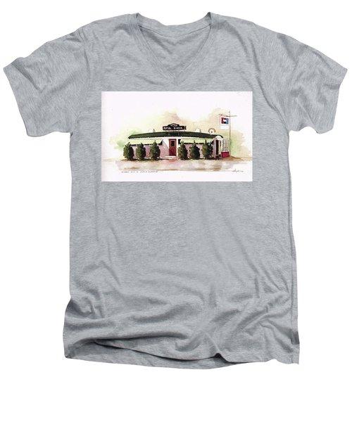 Royal Diner Men's V-Neck T-Shirt