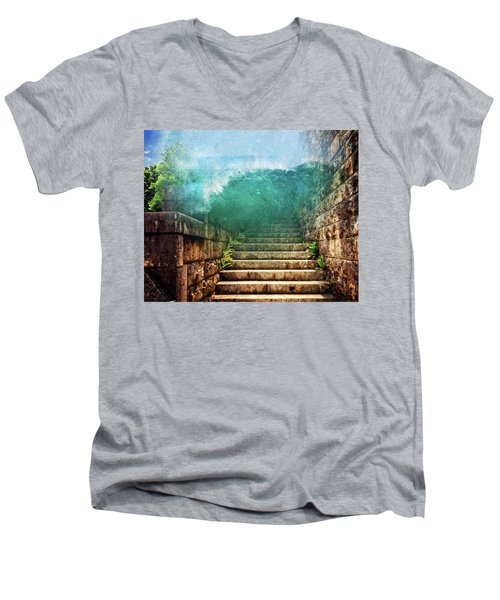 Run Run Run Men's V-Neck T-Shirt