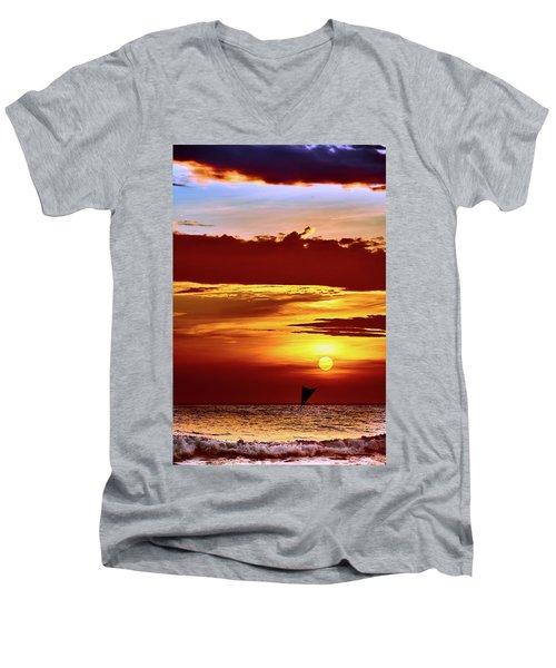 Sail Away... Men's V-Neck T-Shirt