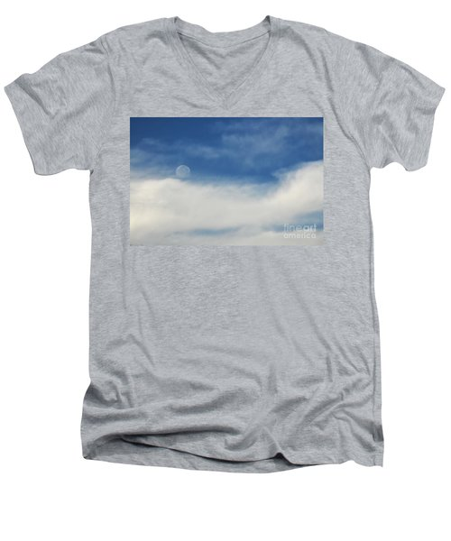 Sailing On A Cloud Men's V-Neck T-Shirt