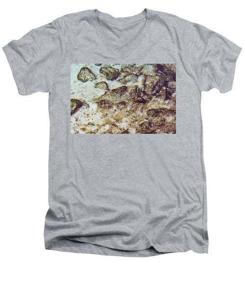 Sand 3 Rivers Men's V-Neck T-Shirt