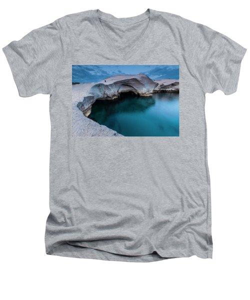 Sarakiniko Men's V-Neck T-Shirt