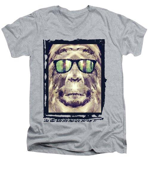 Sasquatch Incognito Men's V-Neck T-Shirt