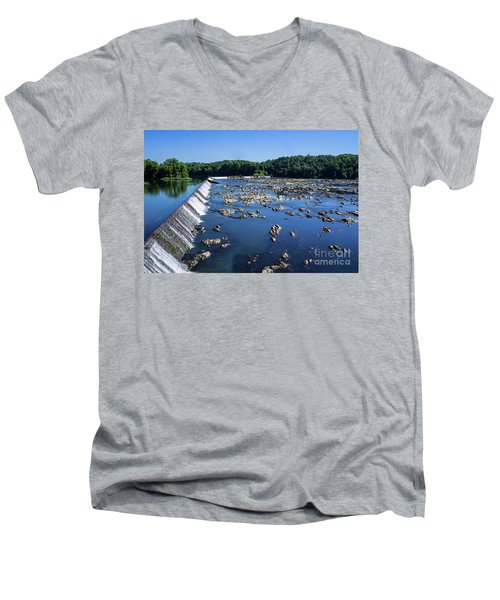 Savannah River Rapids - Augusta Ga 2 Men's V-Neck T-Shirt