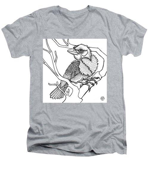 Scarlet Tanager Men's V-Neck T-Shirt