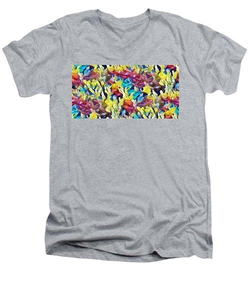 Sea Salad Men's V-Neck T-Shirt