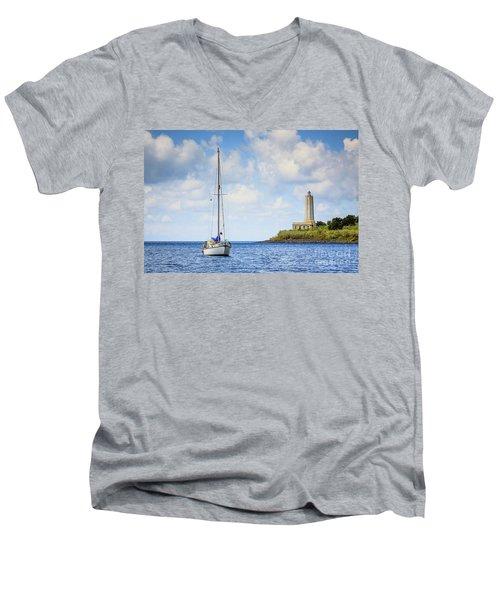 Seascapes 4 Men's V-Neck T-Shirt