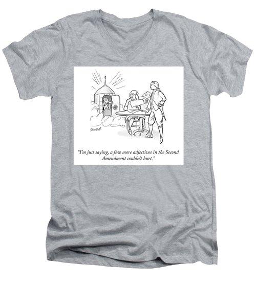 Second Amendment Men's V-Neck T-Shirt