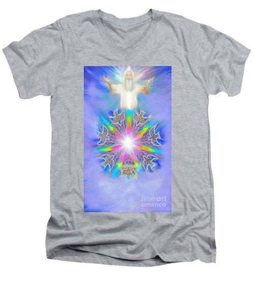Second Coming Men's V-Neck T-Shirt