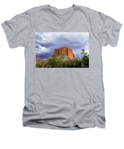 Devil's Mountain Men's V-Neck T-Shirt