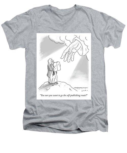 Self Publishing Men's V-Neck T-Shirt