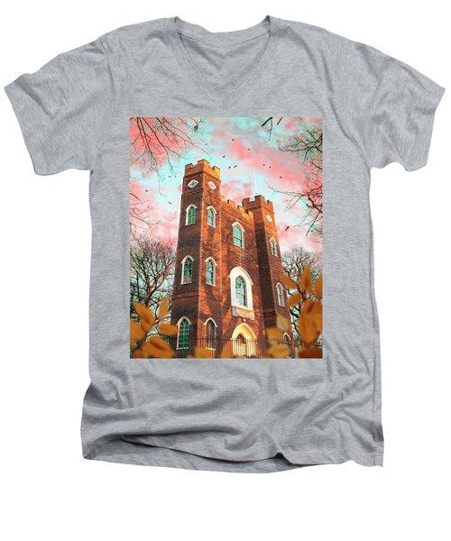Severndroog Castle Men's V-Neck T-Shirt
