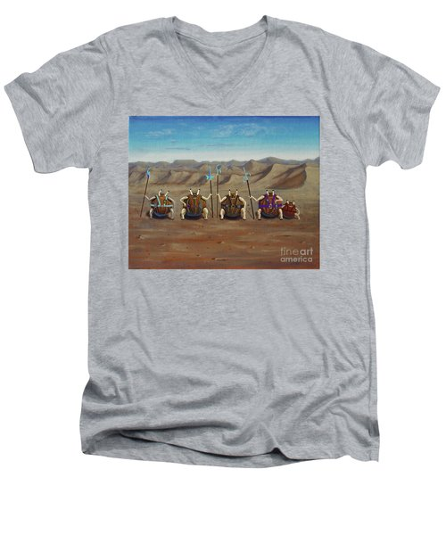 Sferogyls Men's V-Neck T-Shirt