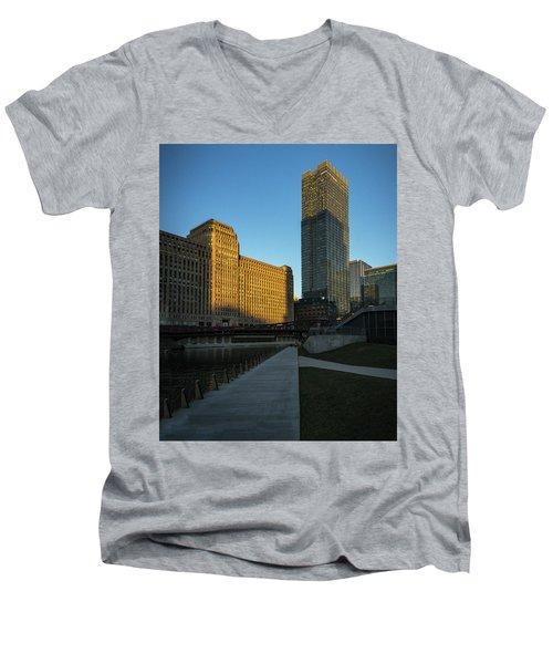 Shadows Of The City Men's V-Neck T-Shirt