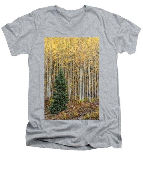 Shimmer Men's V-Neck T-Shirt