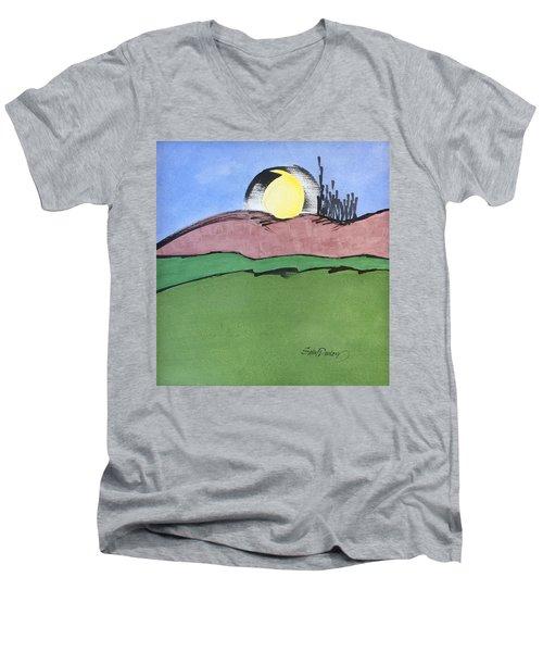 Shine On, Harvest Moon Men's V-Neck T-Shirt