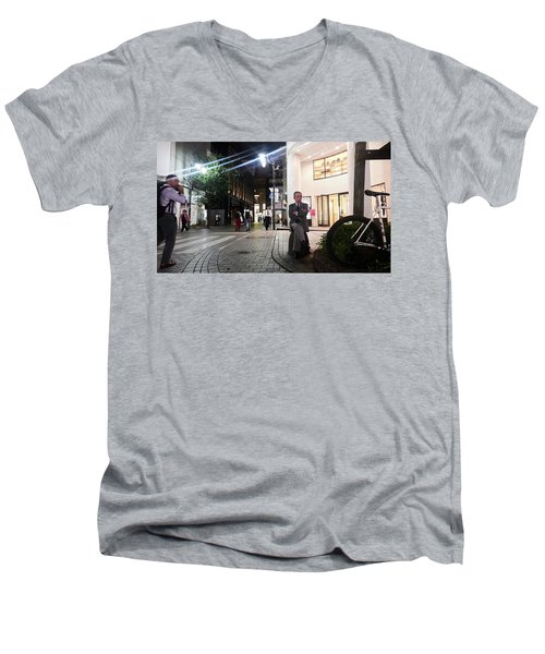 Shinjuku Man Men's V-Neck T-Shirt