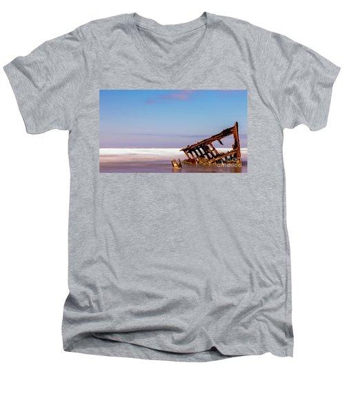 Ship Wreck Men's V-Neck T-Shirt