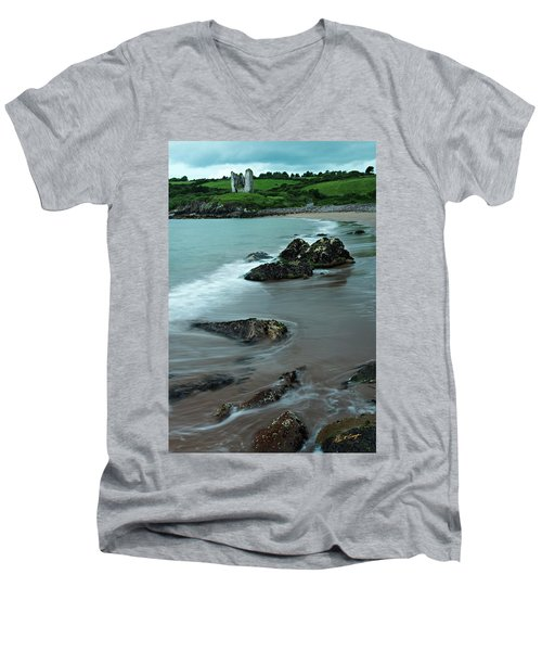 Shore Castle Men's V-Neck T-Shirt