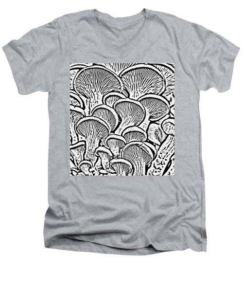 Shroom Zoom Men's V-Neck T-Shirt
