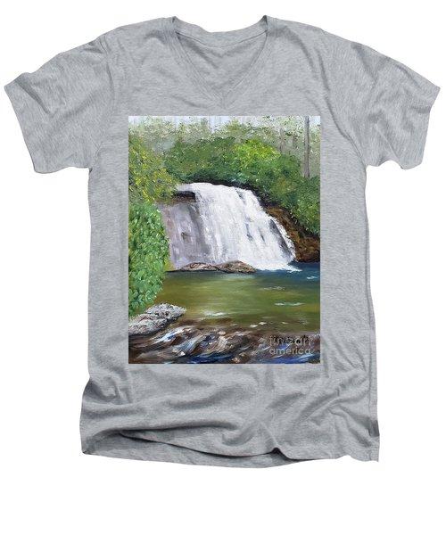 Silver Run Falls Men's V-Neck T-Shirt