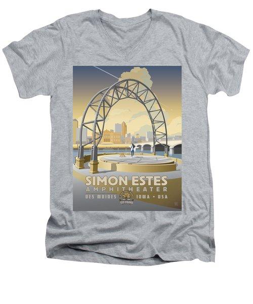 Simon Estes Amphitheater Men's V-Neck T-Shirt