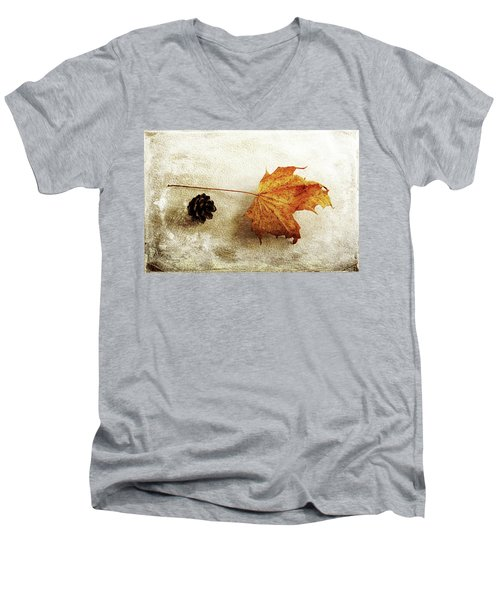 Men's V-Neck T-Shirt featuring the photograph Simple And Beautiful by Randi Grace Nilsberg