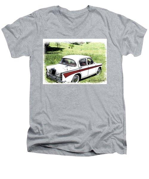 Singer Gazelle Men's V-Neck T-Shirt