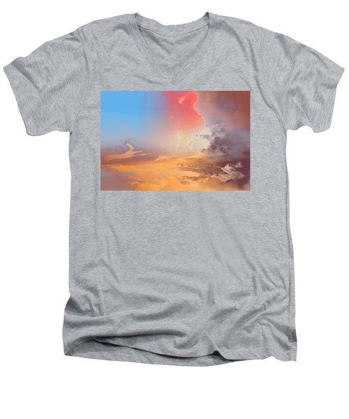 Sky Fight Men's V-Neck T-Shirt