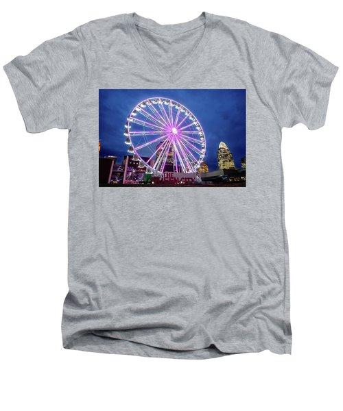 Skystar Ferris Wheel Men's V-Neck T-Shirt