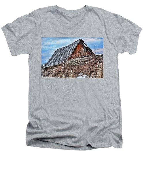 Slippery Slope Men's V-Neck T-Shirt