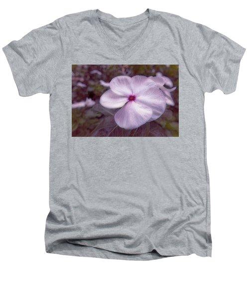 Small Flower Men's V-Neck T-Shirt
