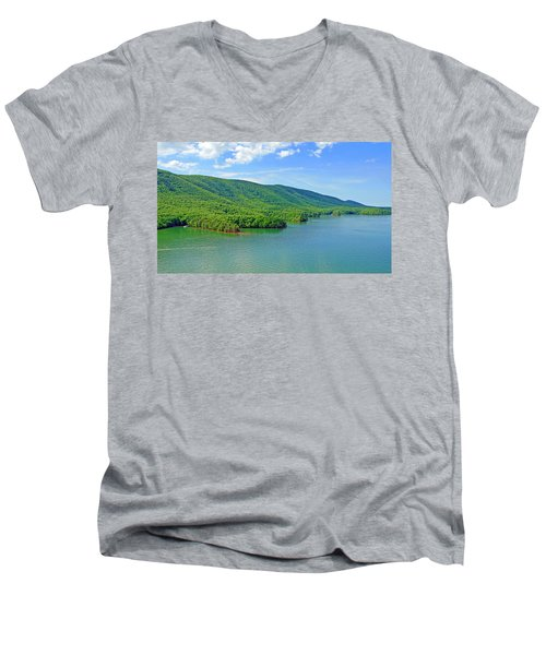 Smith Mountain Lake Men's V-Neck T-Shirt