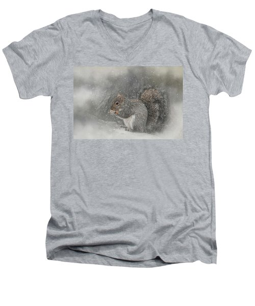 Snack Time Men's V-Neck T-Shirt
