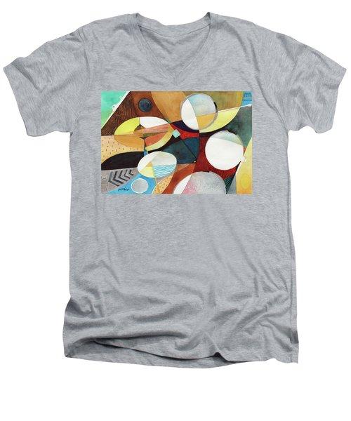 Snare And Hi-hat Men's V-Neck T-Shirt