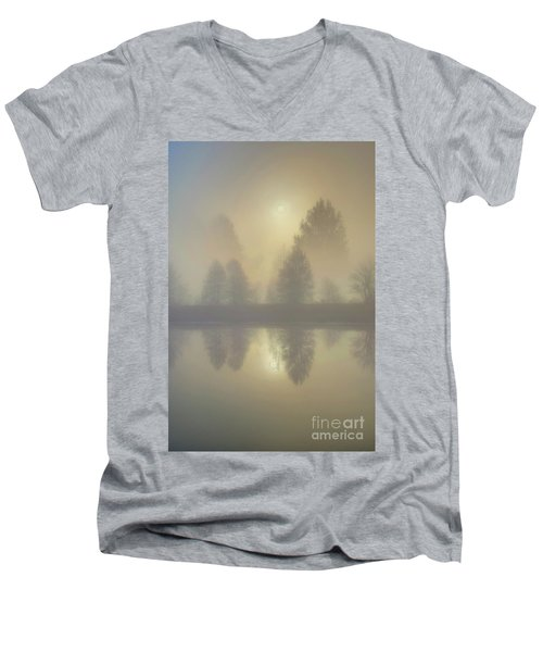 Softly Comes The Sun Men's V-Neck T-Shirt