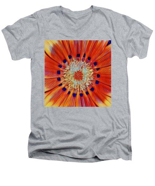 Solar Plexus Bloom Men's V-Neck T-Shirt