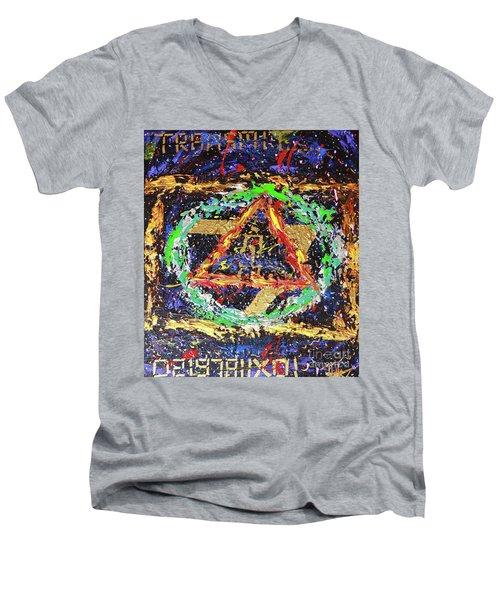 Solar Returns Men's V-Neck T-Shirt