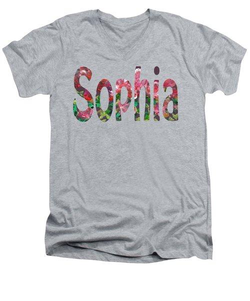 Sophia Men's V-Neck T-Shirt