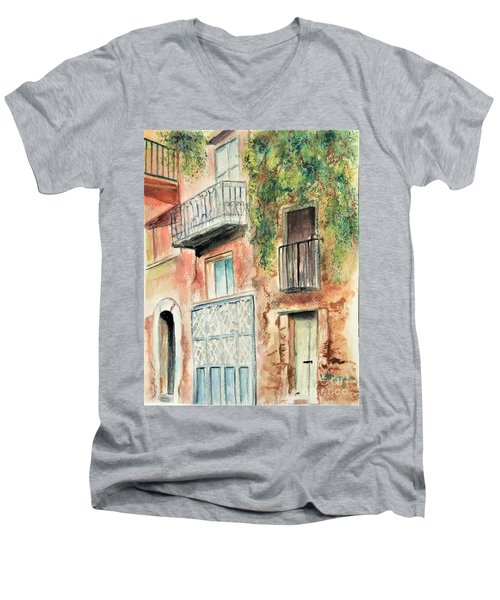Sorrento Charm Men's V-Neck T-Shirt