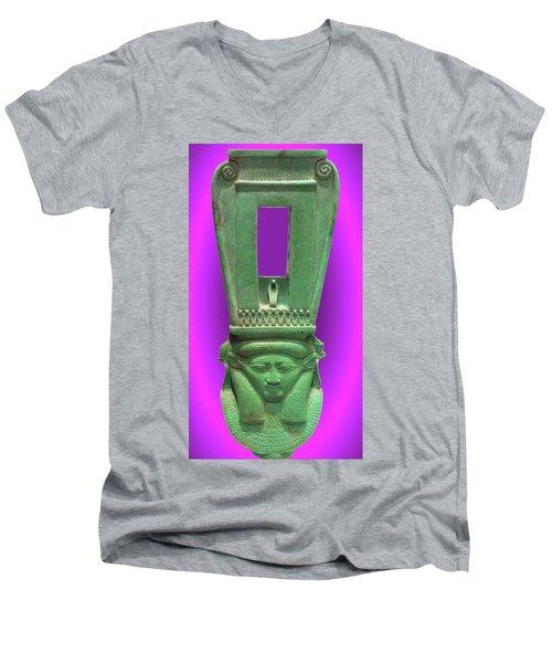Sound Machine Of The Goddess Men's V-Neck T-Shirt