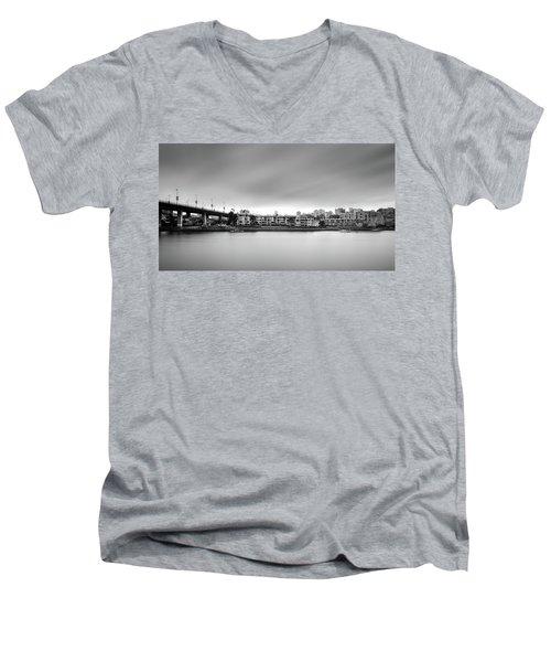 Venice Court, Vancouver Bc, Canada Men's V-Neck T-Shirt