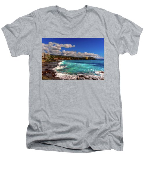 Southern View Of The Shore Men's V-Neck T-Shirt